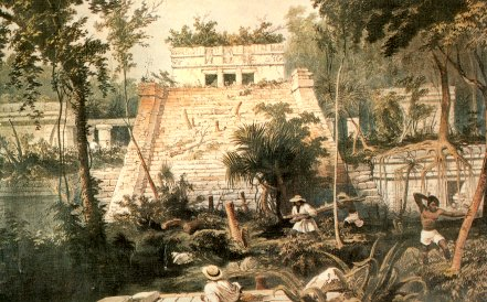 Tulum by Catherwood 1844